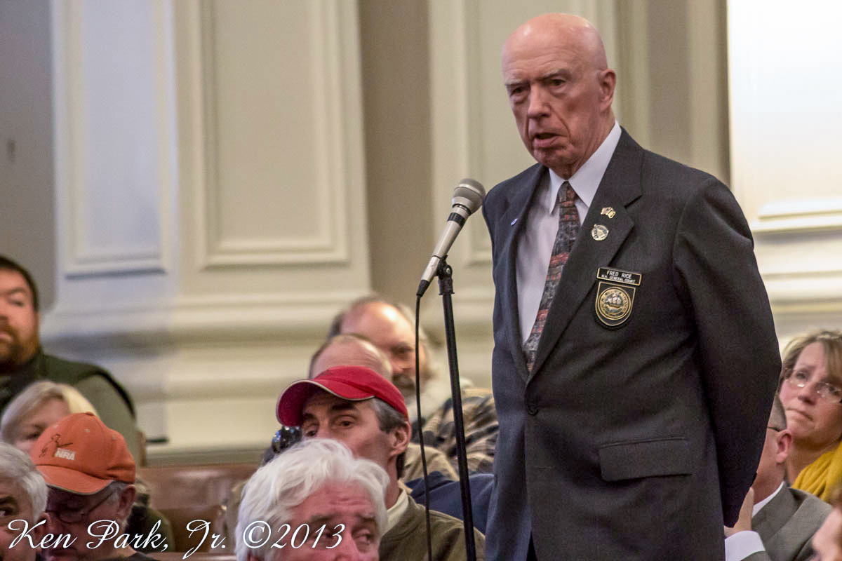 Senator Fred Rice - January 22nd, 2013